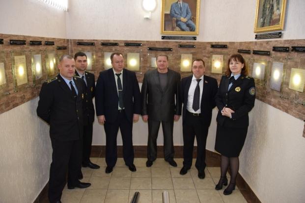 Встреча с руководством Главного управления юстиции Витебского облисполкома